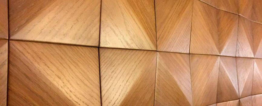 Veneered decorative panels - Malyn furniture factory