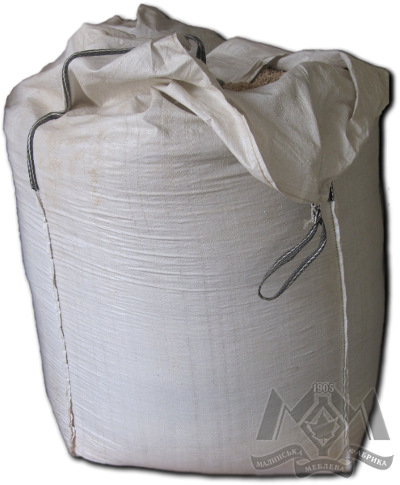 Wood pellets in 1t bag - Malyn furniture factory and MEBLEVA BV